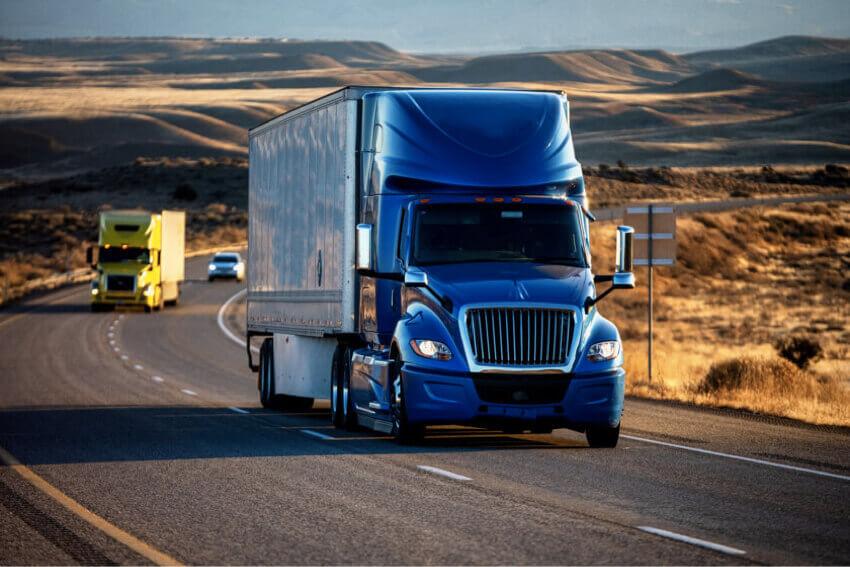 Trucks distribution order picking process