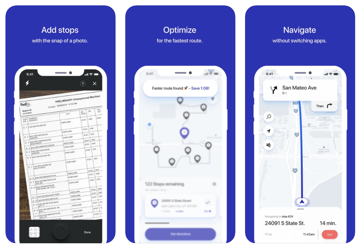 Straightaway Route Planner App