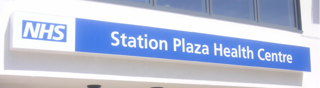 Station Plaza Health Centre Sign
