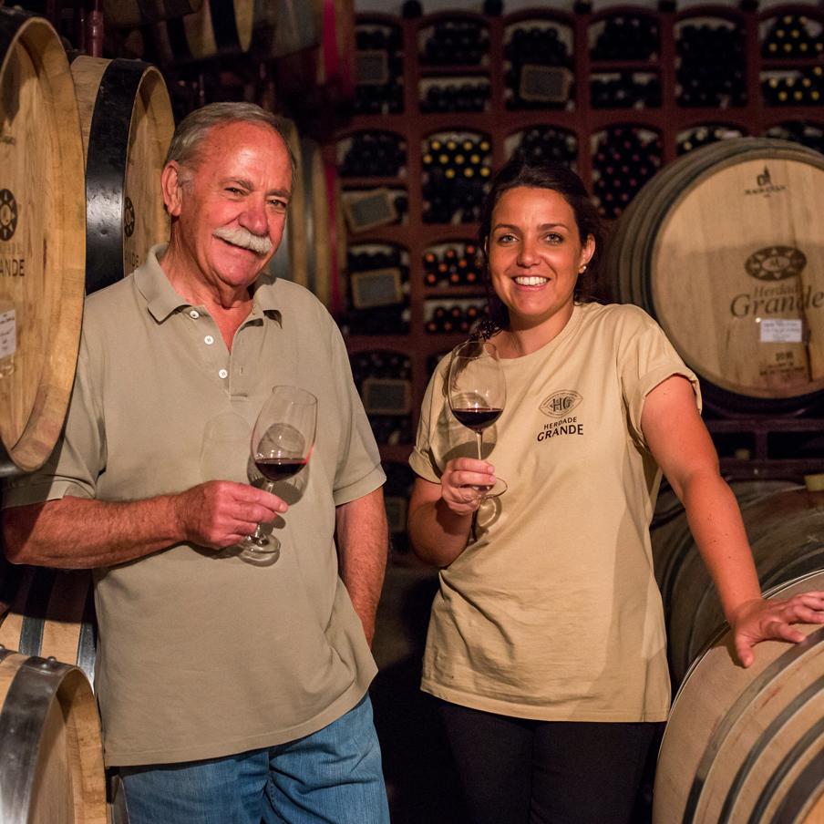 Herdade Grande vineyard Portugal