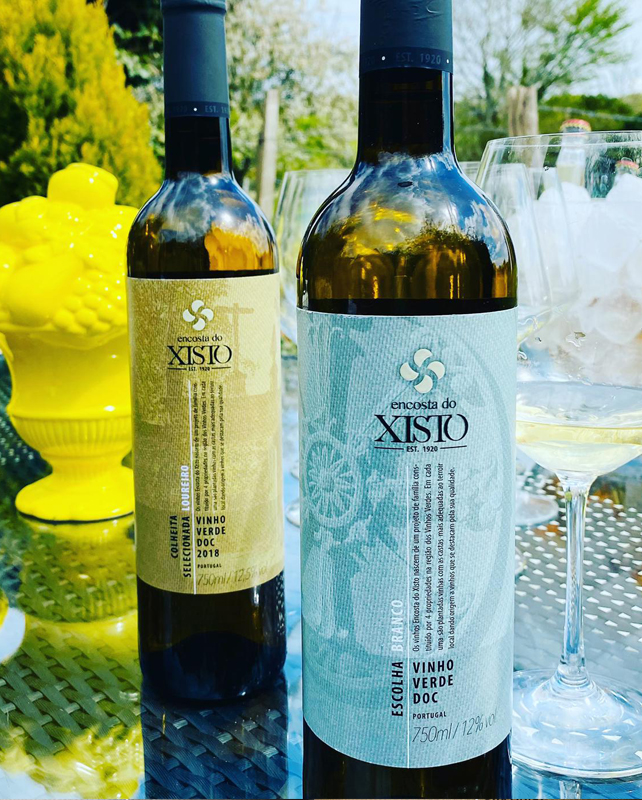 Encosta do Xisto, wine vineyard in the Vinho Verde region of Portugal.