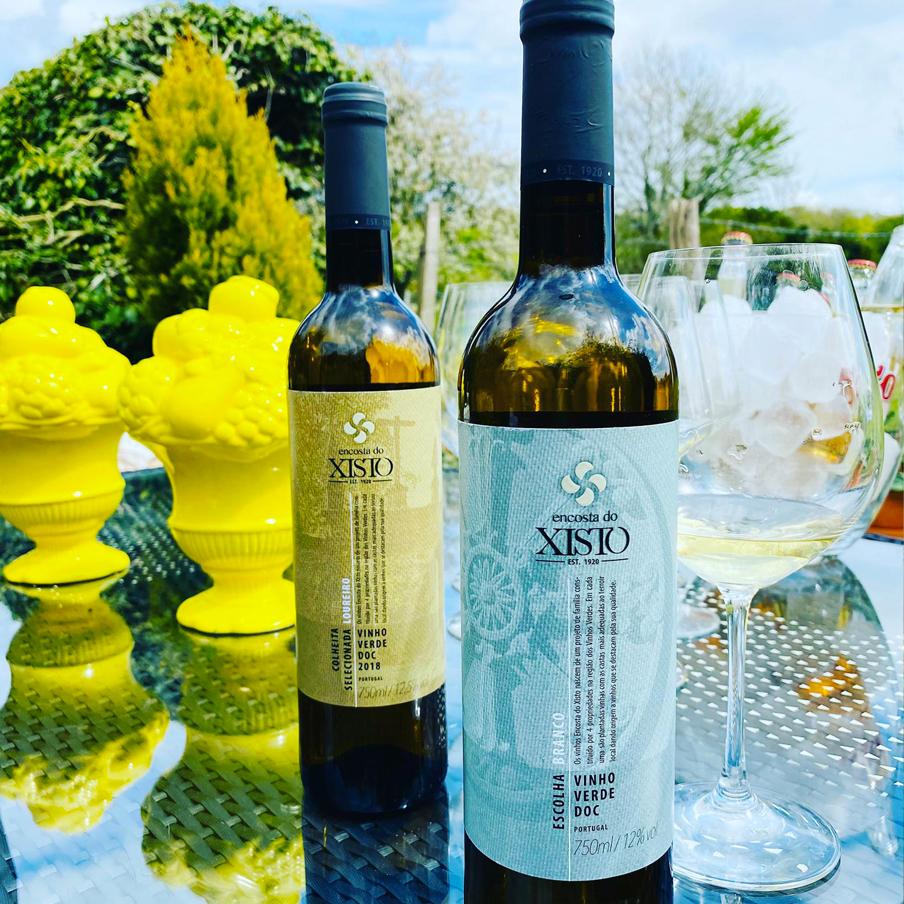 Encosta do Xisto wine from the Vinho Verde region of Portugal. Vinho Verde Portuguese wine online store.
