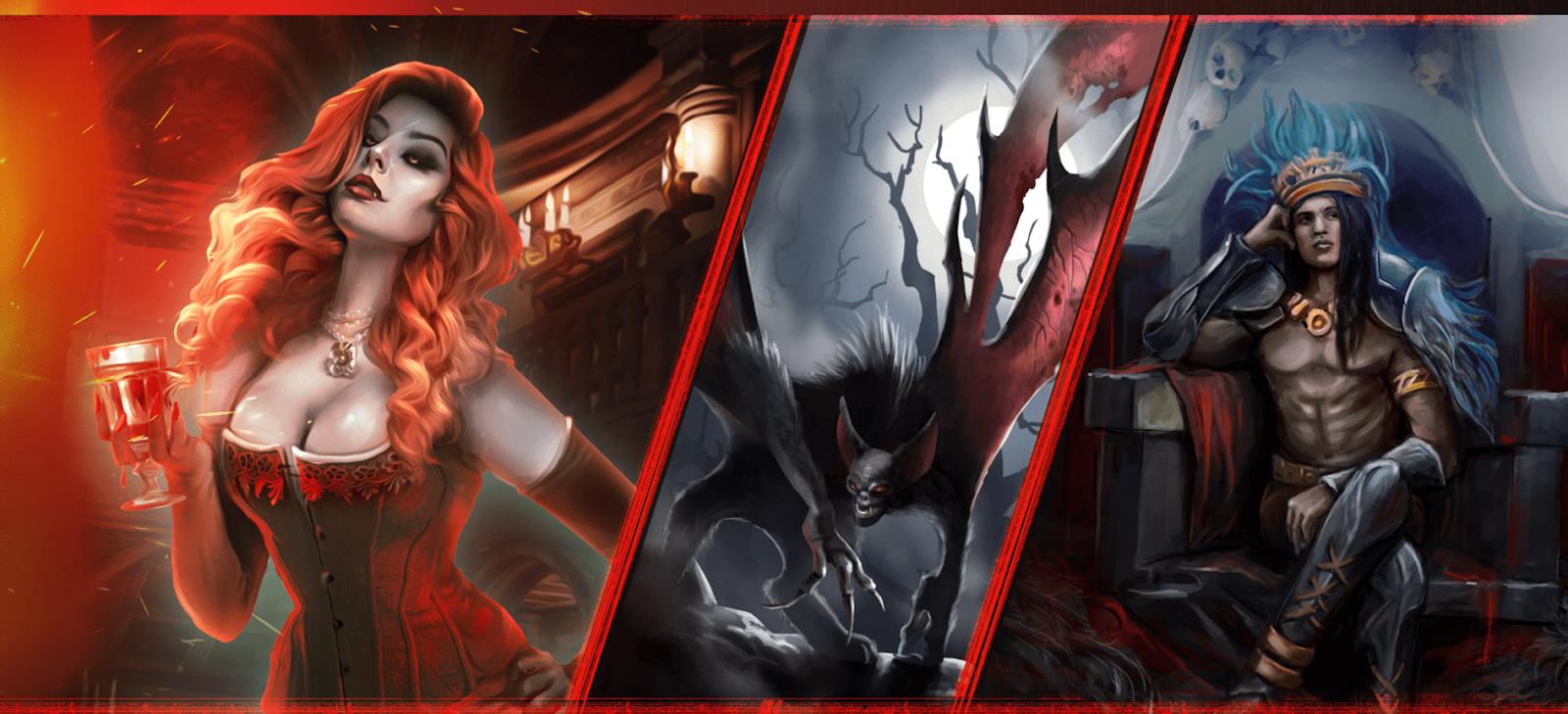 Dark Country Vampire Cards
