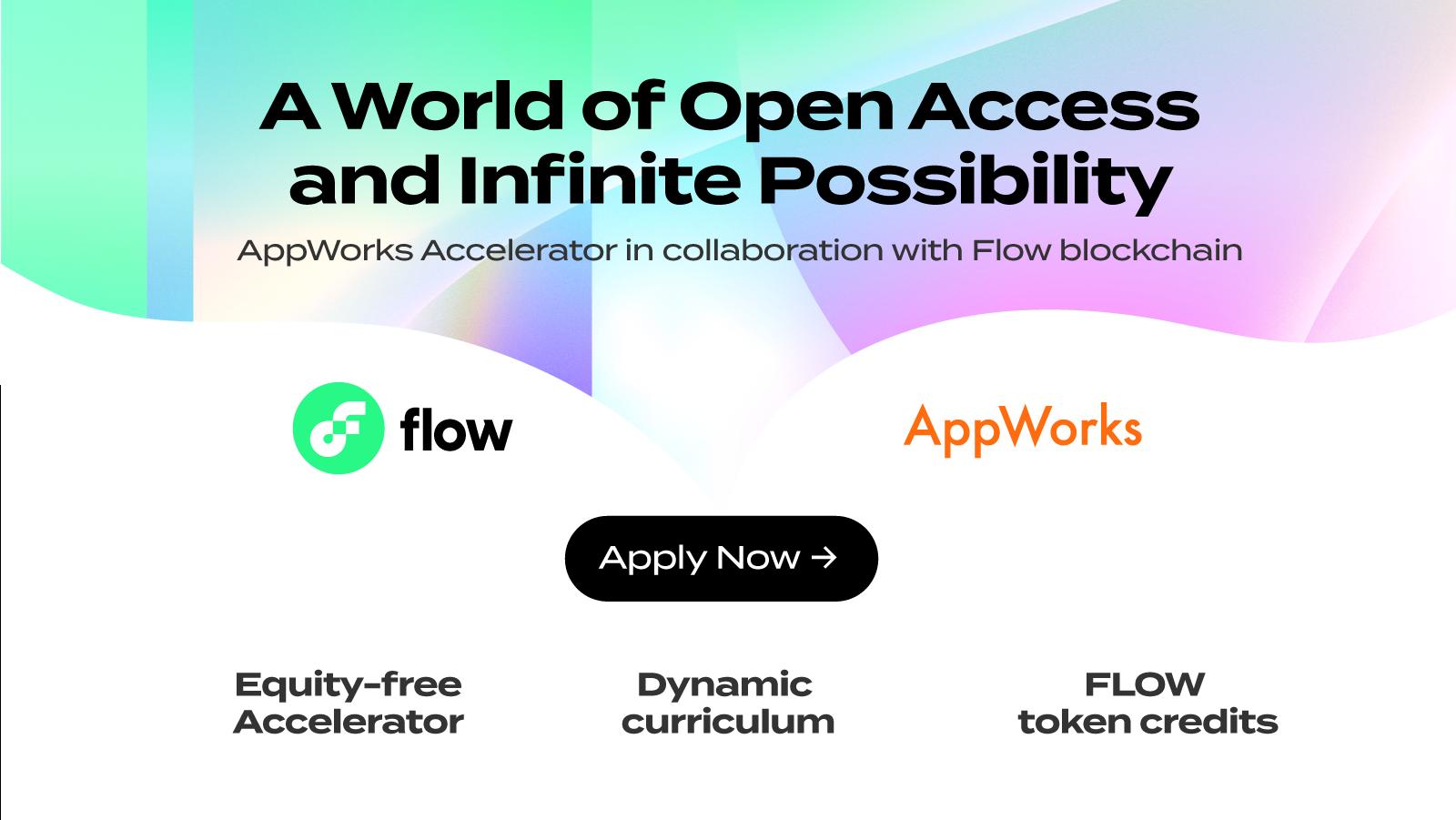 Flow: Flow is Partnering with AppWorks Accelerator #23