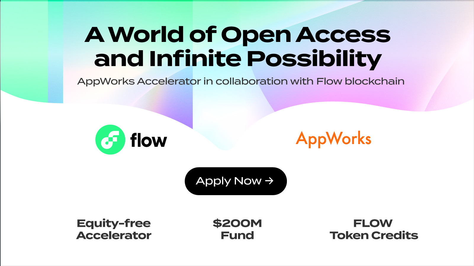 Flow is Partnering with AppWorks Accelerator #23