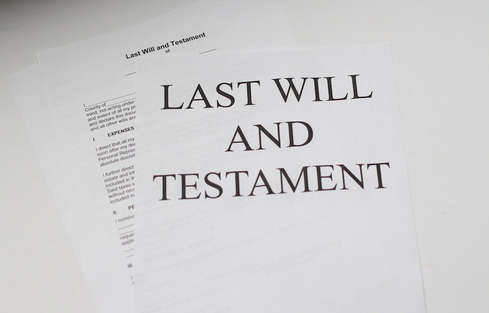 Papers with title Last Will and Testament