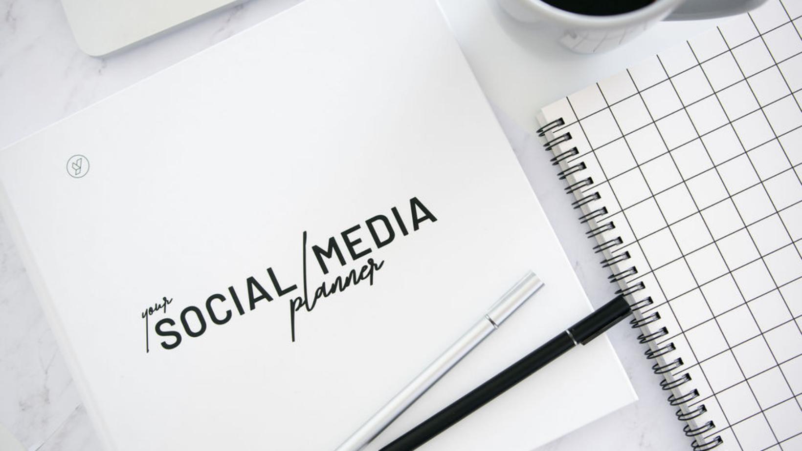 Social media planner by Empathie marketing.