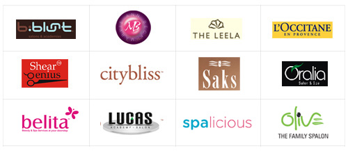 family of spas and salons that are using Zenoti