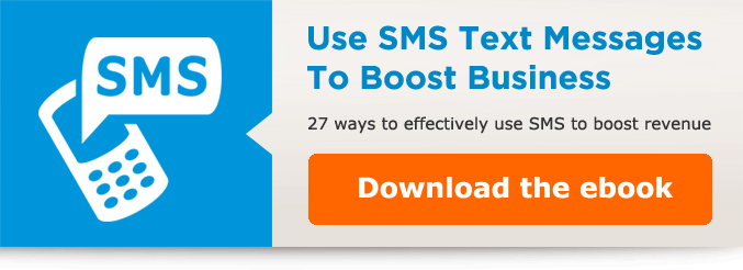 Text messages that streamline your operations
