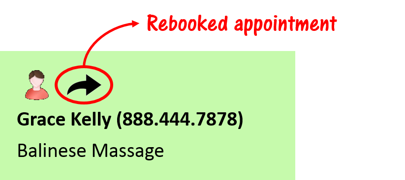 Reebooked Appointment