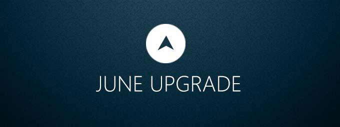 June 2015 upgrade