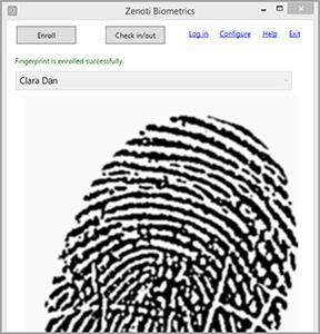 Zenoti Biometrics