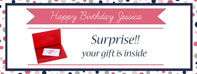 Sell more birthday gift cards in your Spa and Salon