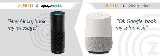 The Zenoti + Amazon Echo Experience