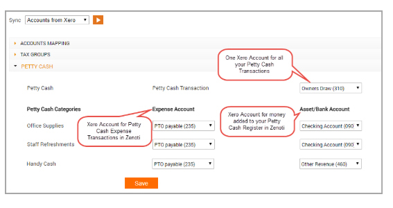 Separate Xero Accounts for Each of your Custom Payments