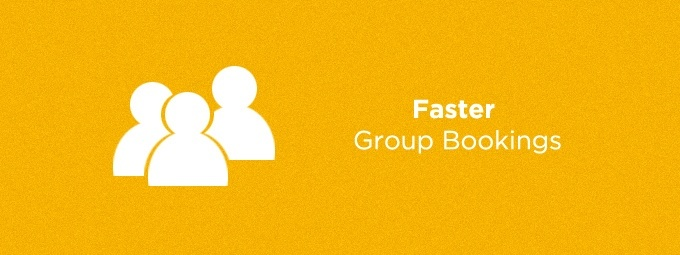 Faster Group Bookings