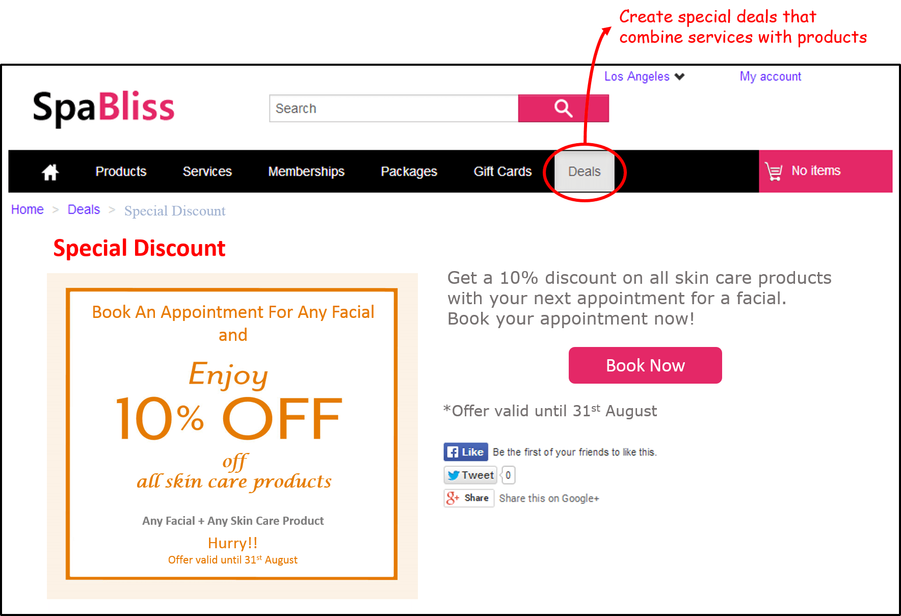Product + Service Deals