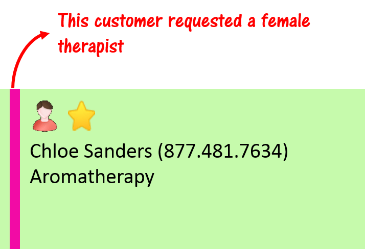 Therapist Request