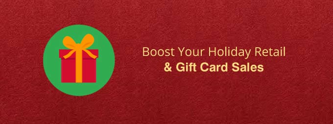 Holiday Retail banner