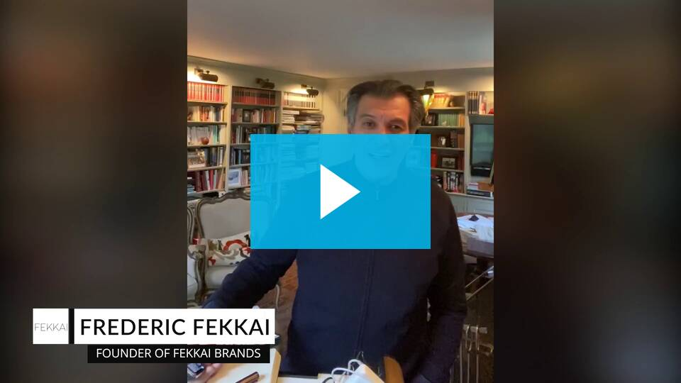 Check out the special message from Frederic Fekkai - Zenoti's Salons Software
