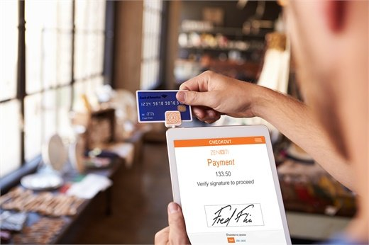 Point-of-Sale and custom reporting enhancement of zenoti on a mobile device