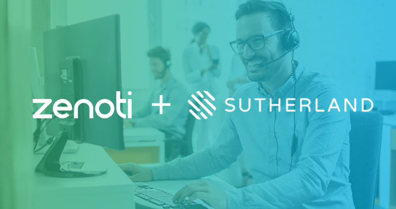 Zenoti Announces Strategic Partnership with Sutherland Global to Bring Real-Time, 24x7 Customer Support to More Than 12,000 Beauty and Wellness Businesses