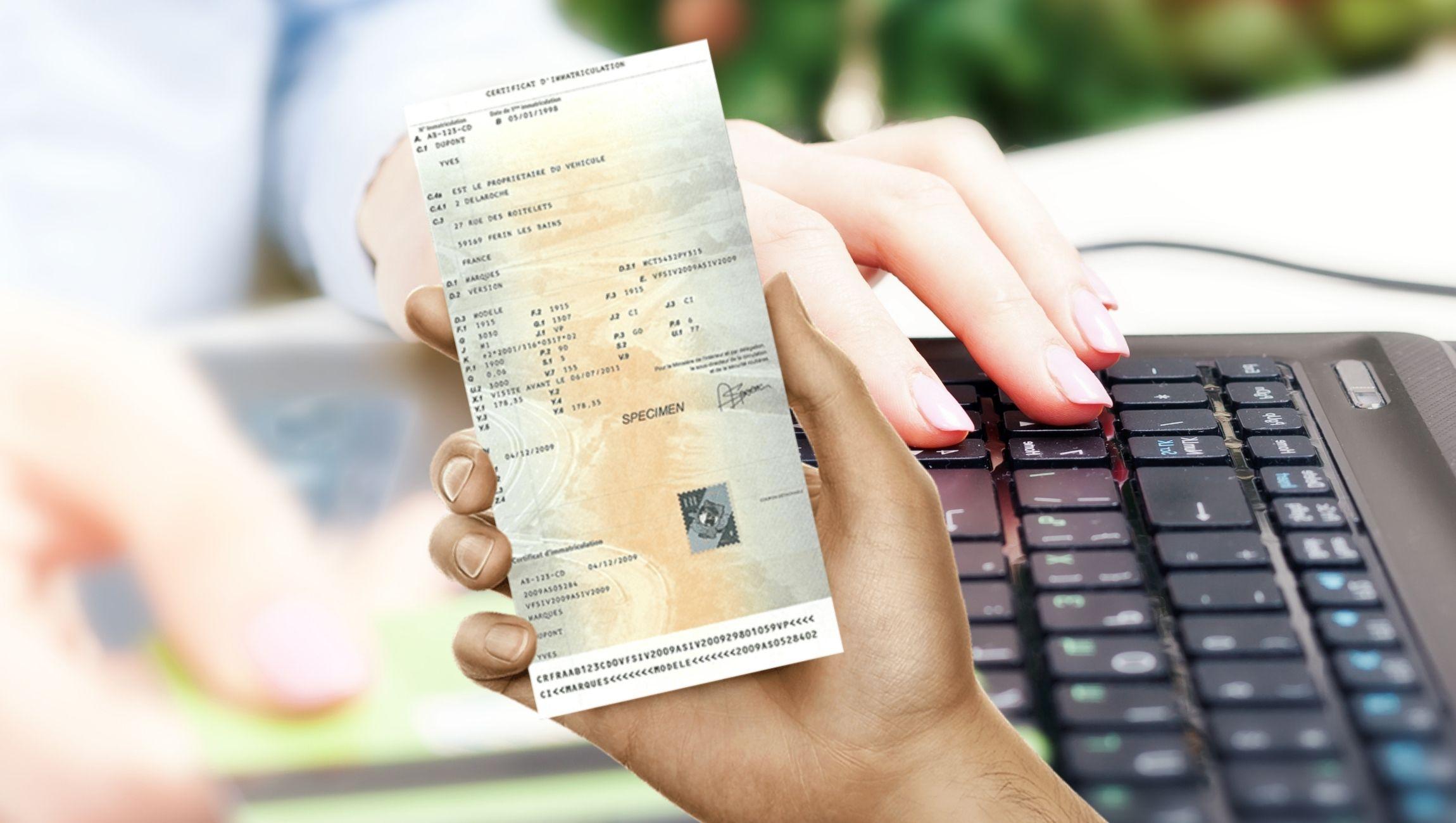 Formulaire duplicata suite à la perte d'une carte grise