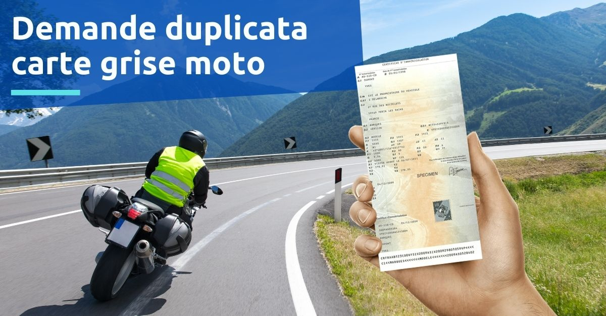demande duplicata carte grise moto