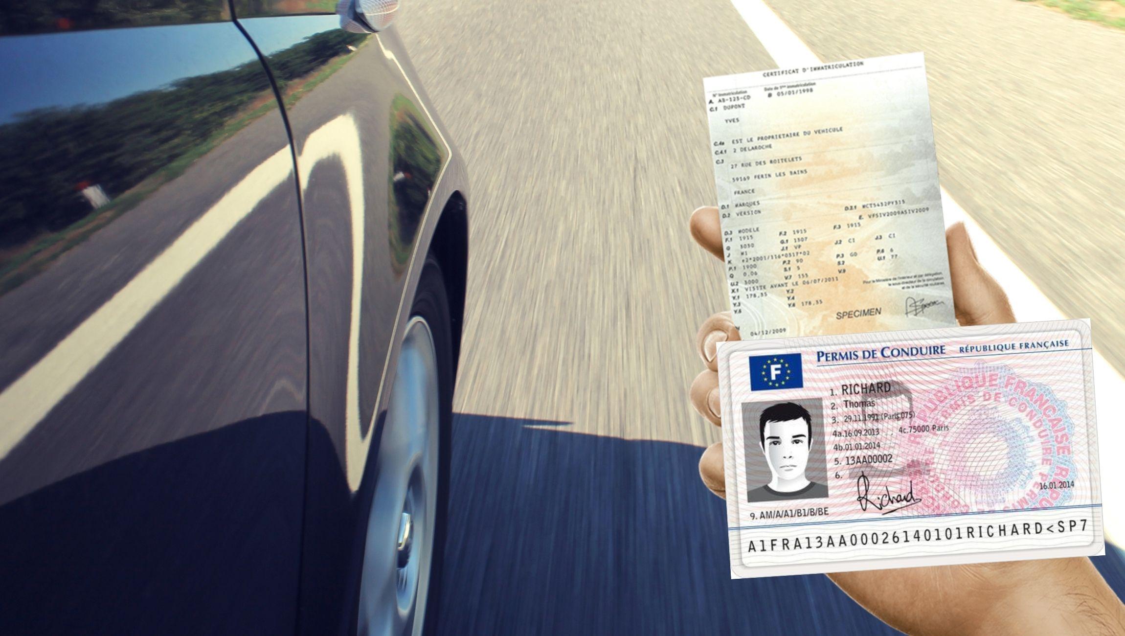 Perte carte grise et permis de conduire : que faire ?