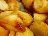 crispy home cooked roast potatoes
