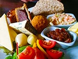 a ploughmans lunch