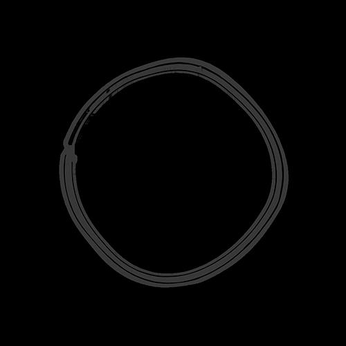 Puun poikkileikkausta muistuttava logo