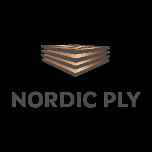 Nordic Ply logo värillisenä versiona