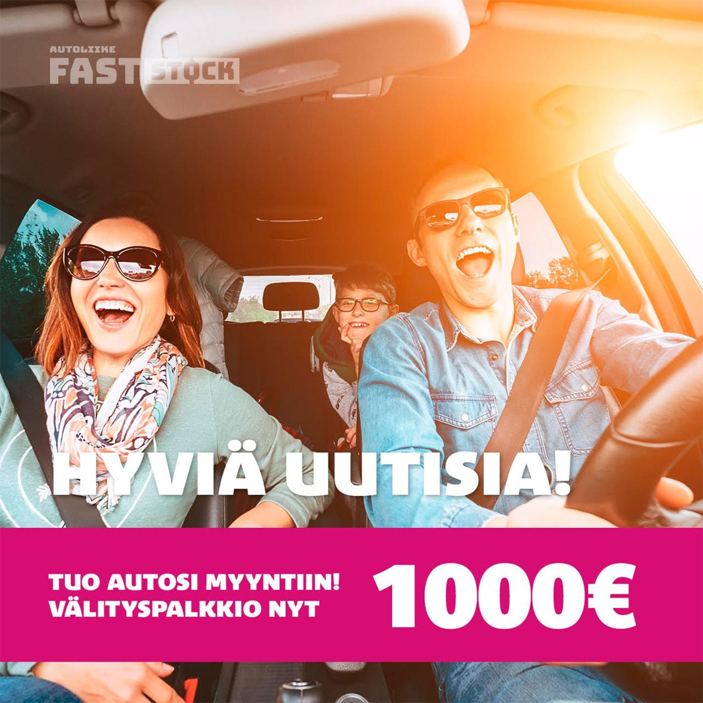 FastStock:lle toteutettu somekampanja