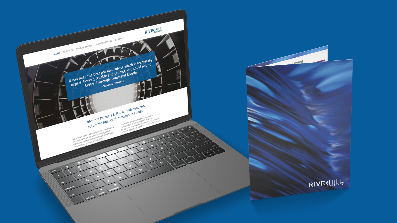 Riverhill Partners website and folder