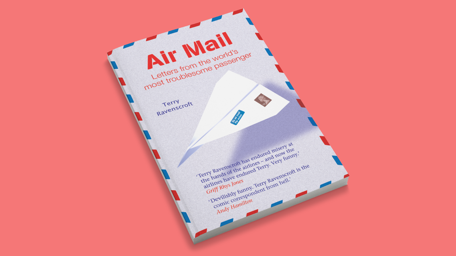 Air Mail cover design
