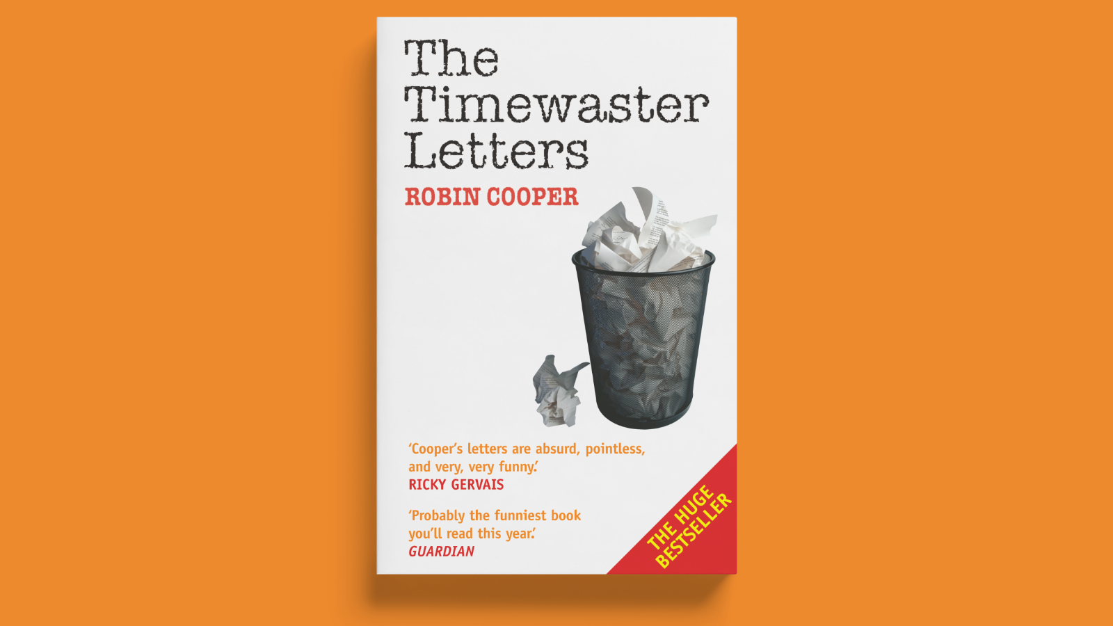 The Timewaster Letters cover design