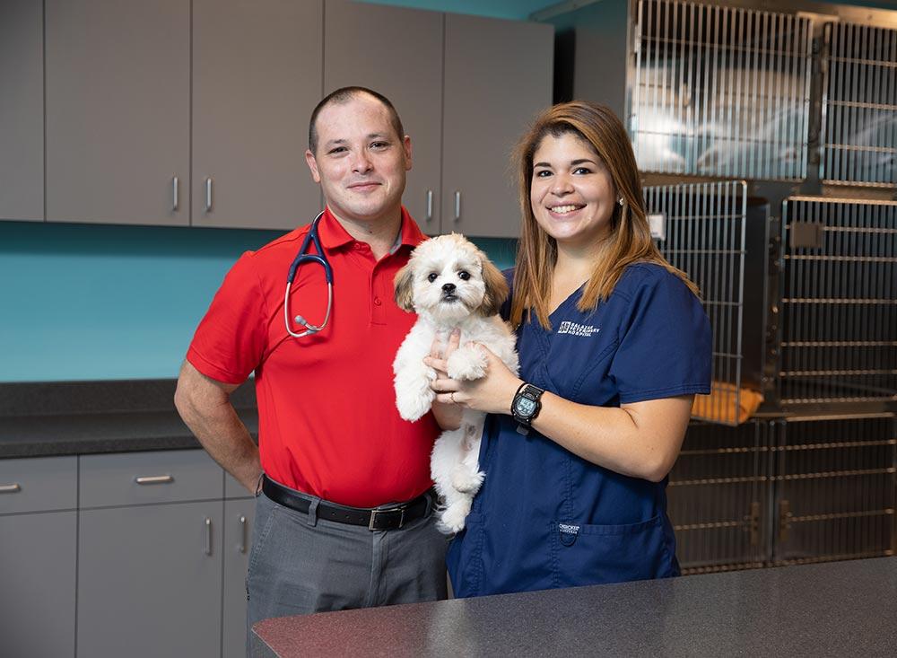 Salazar Veterinary Hospital staff