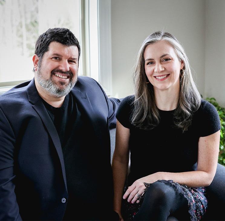 Photo of partners Malinda and Brian Gagnon