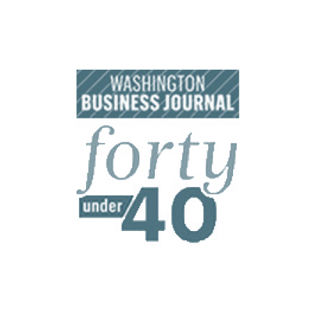 Washington Business Journal Forty under 40