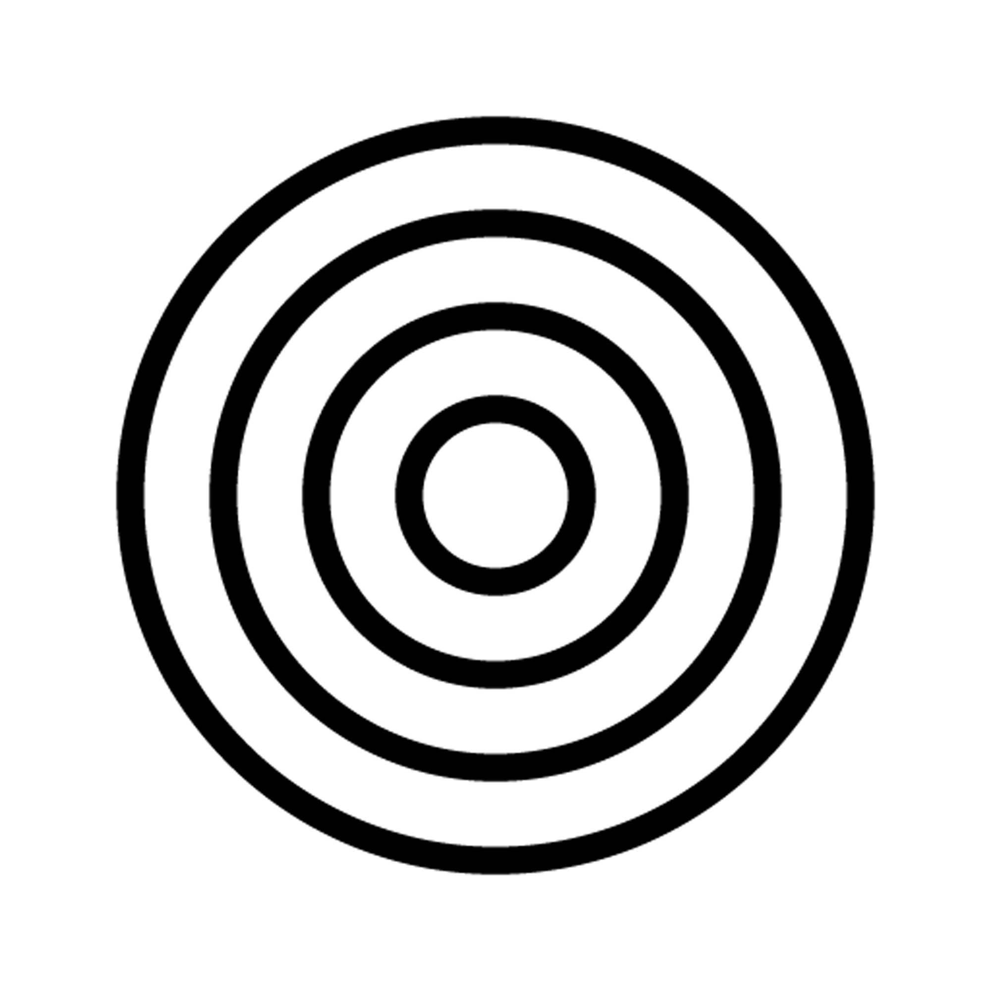 Positioning target image