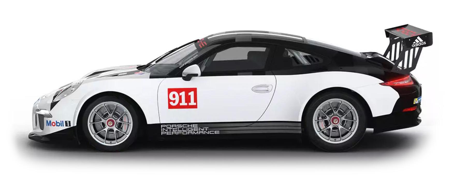 Porsche Sprint Challenge North America Gold Class car