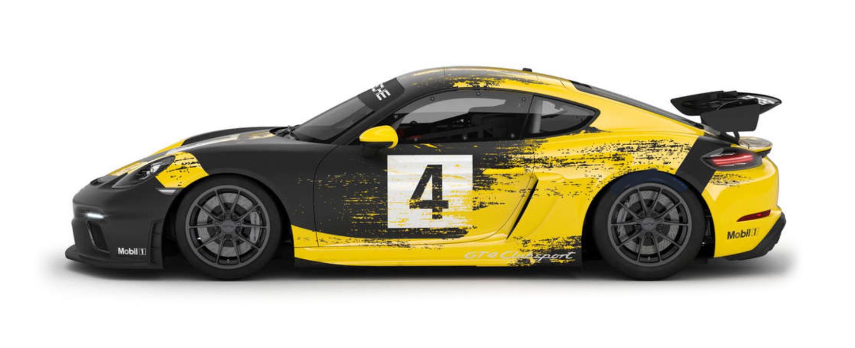 Compete: Porsche Sprint Challenge North America Silver Class car