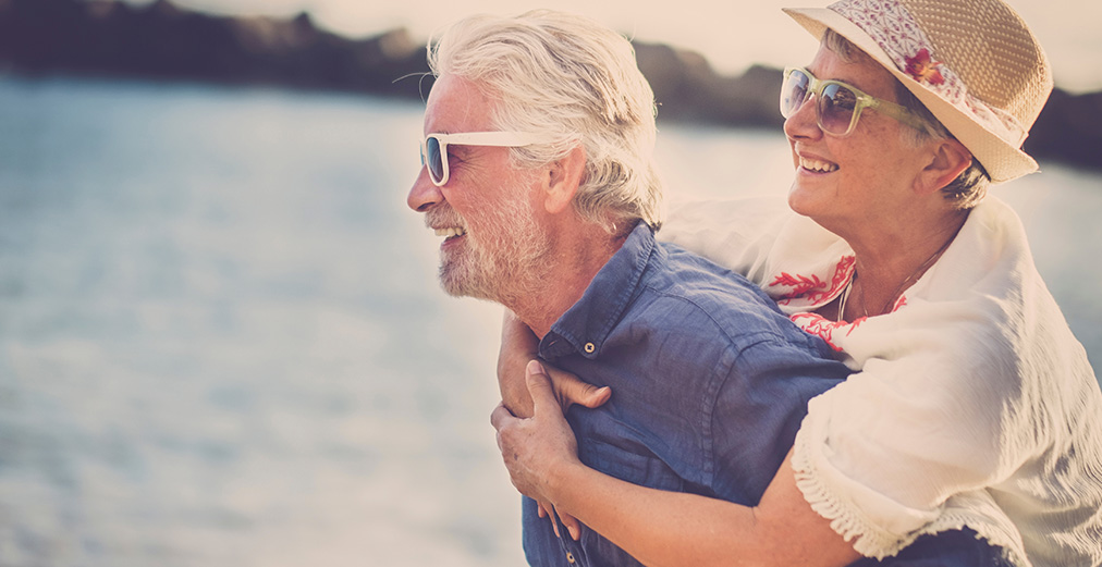 Couple enjoying their retirement through a well managed SMSF
