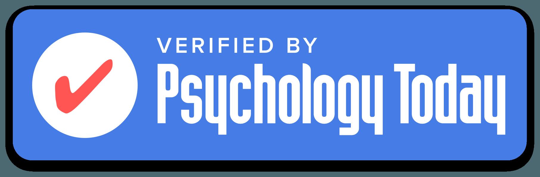 Psychology Today verified logo