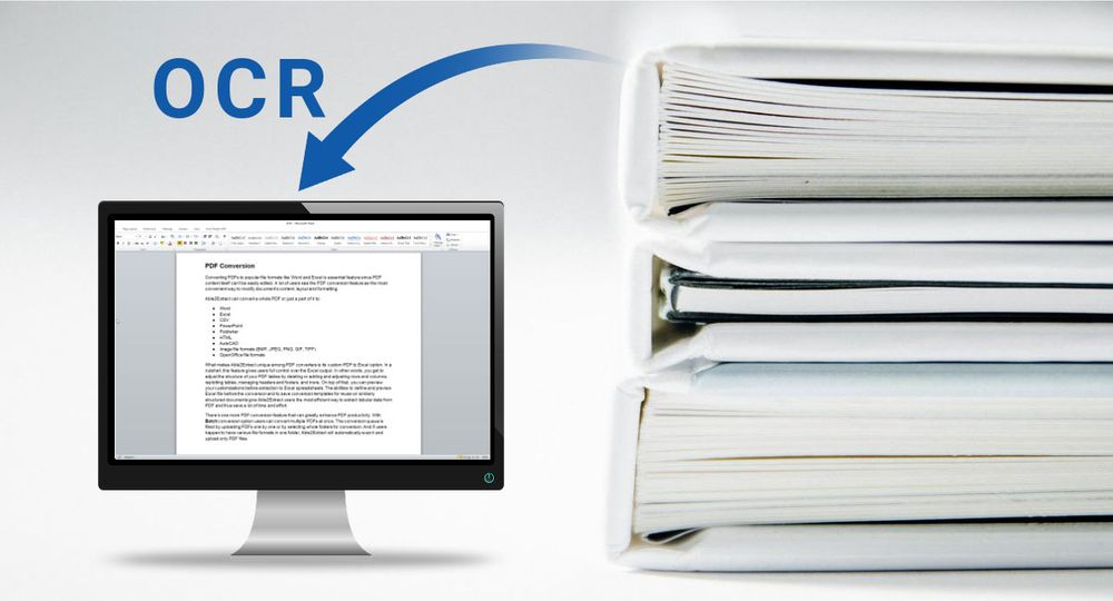 Everything about OCR: What is OCR? How does OCR technology work? What are the applications of OCR?