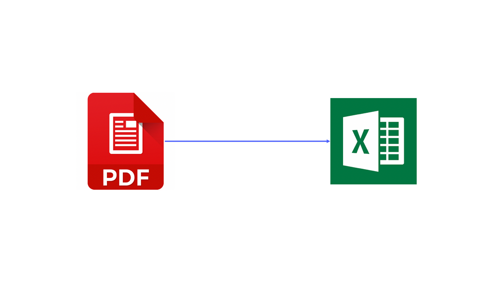 Extracting Data from PDF to Excel
