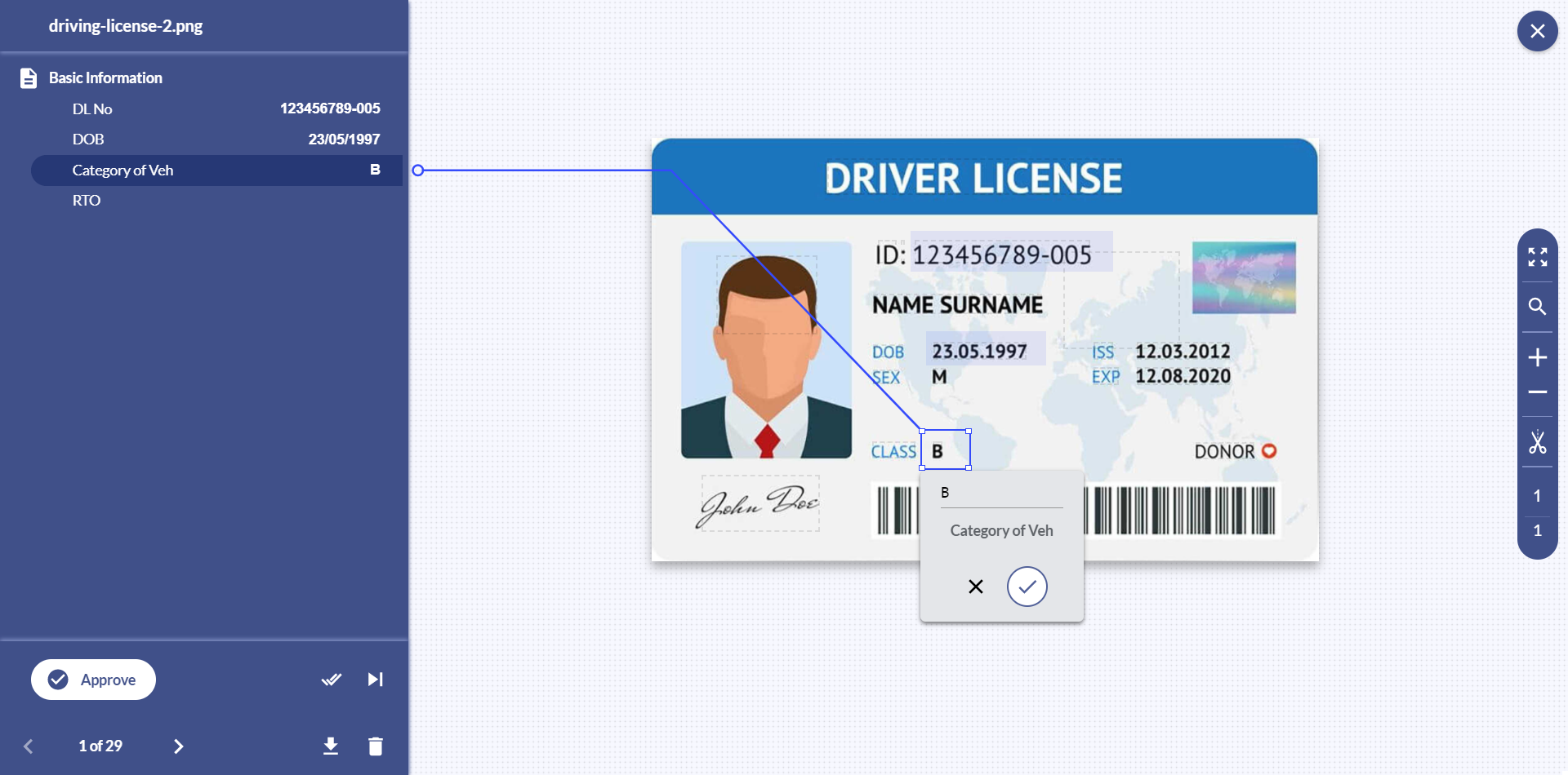 With Docsumo, you can scan driving license or extract data from images in real-time. Let's take a look at how Docsumo makes it easier for you.