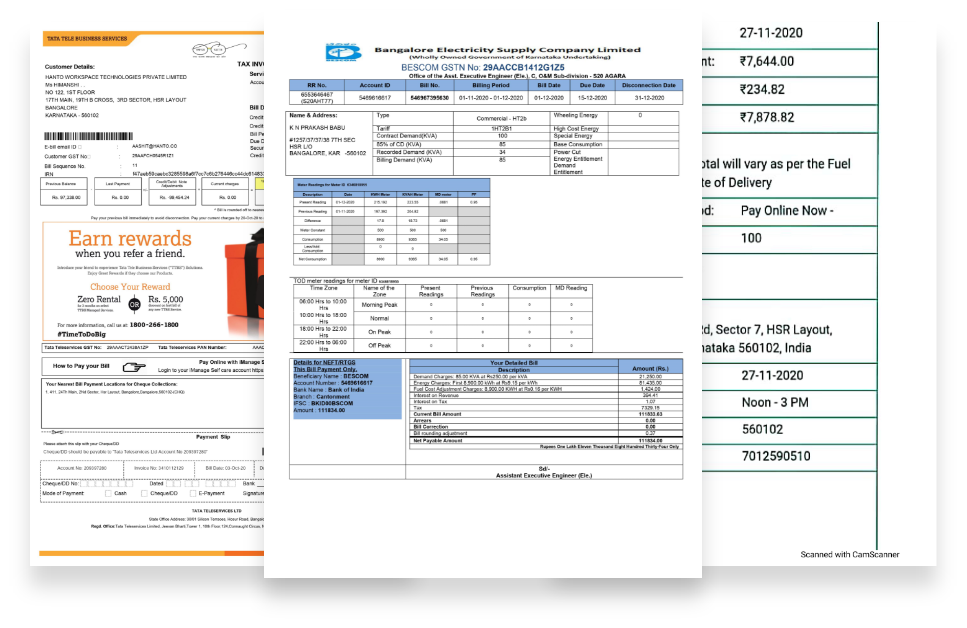 Energy and Utility Bills Automation