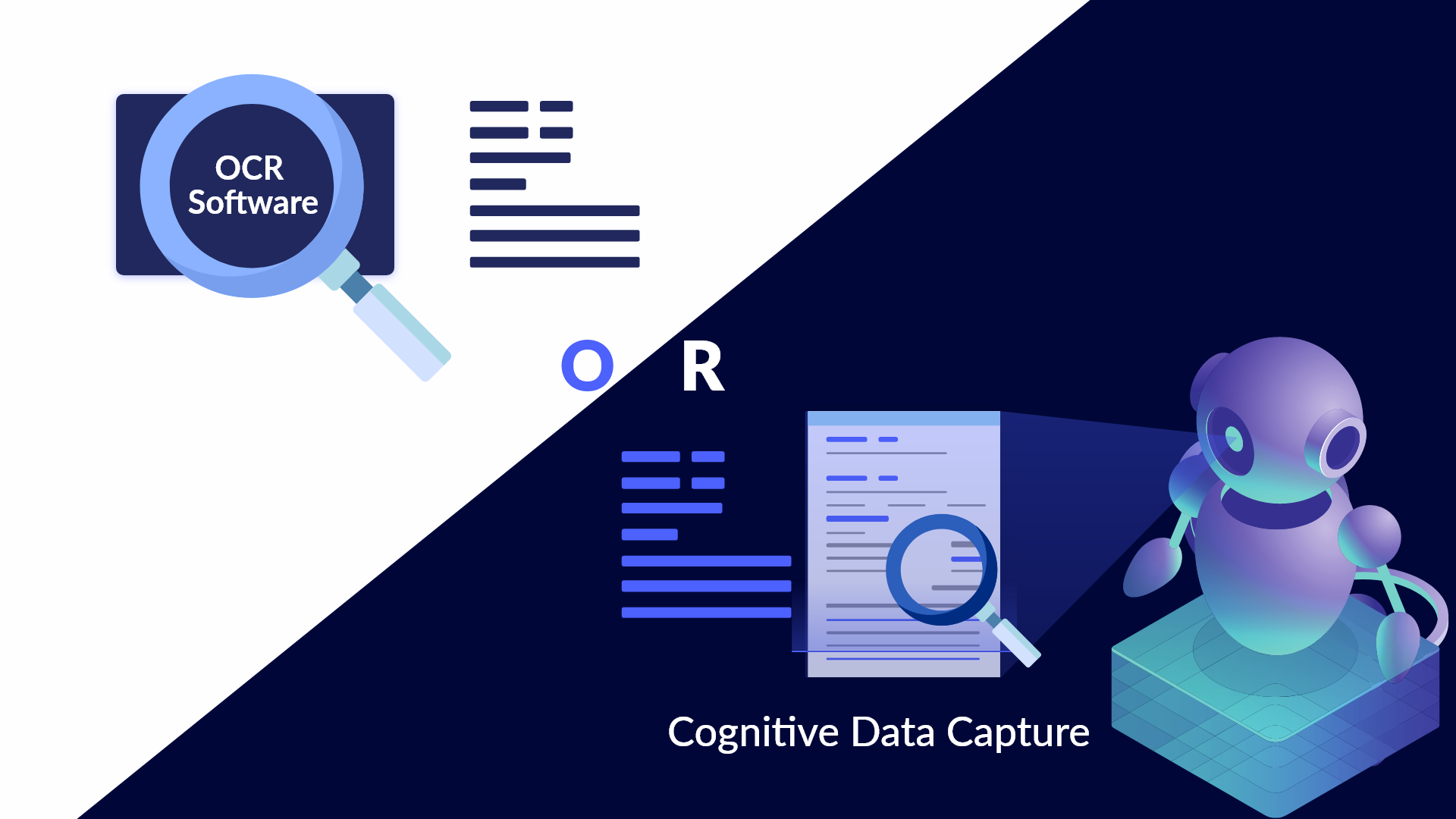 Which data capture solution is for you—OCR or Cognitive?